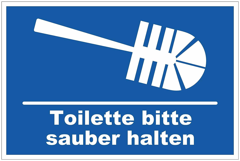 Baños de inodoro/Cartel de 116 # de por favor limpio ...