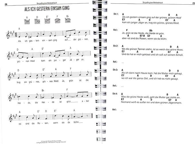 Bosworth Musikverlag BOE7889 9783865439840 - Libro de canciones ...