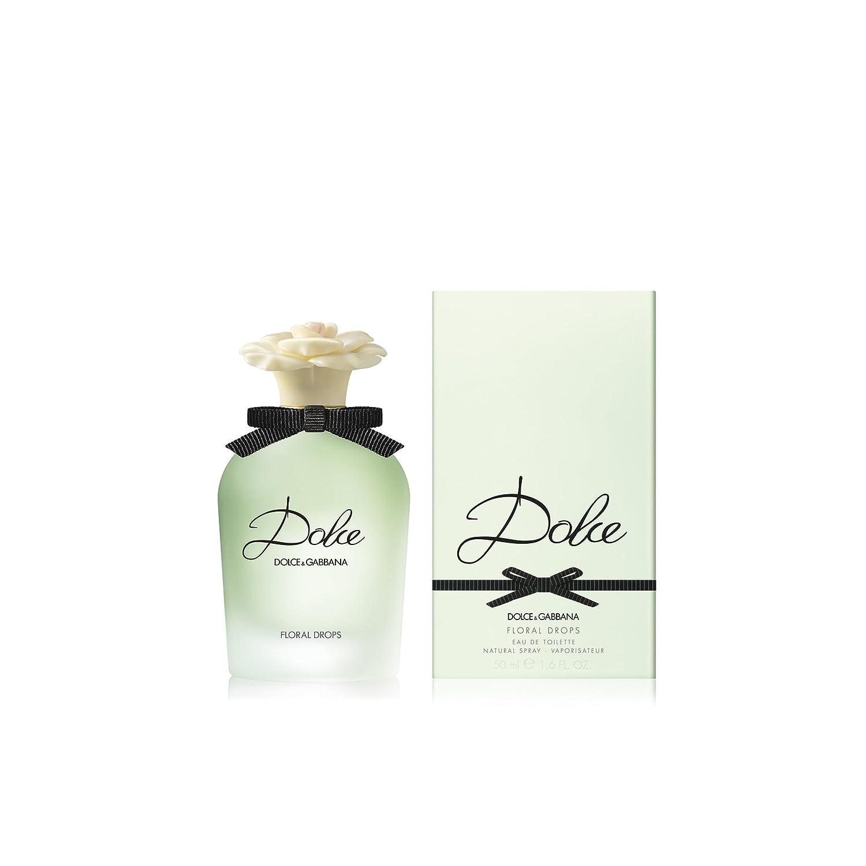 e00f34f41a08 Dolce Gabbana Floral Drops Eau de Toilette for Women 50 ml  Amazon ...