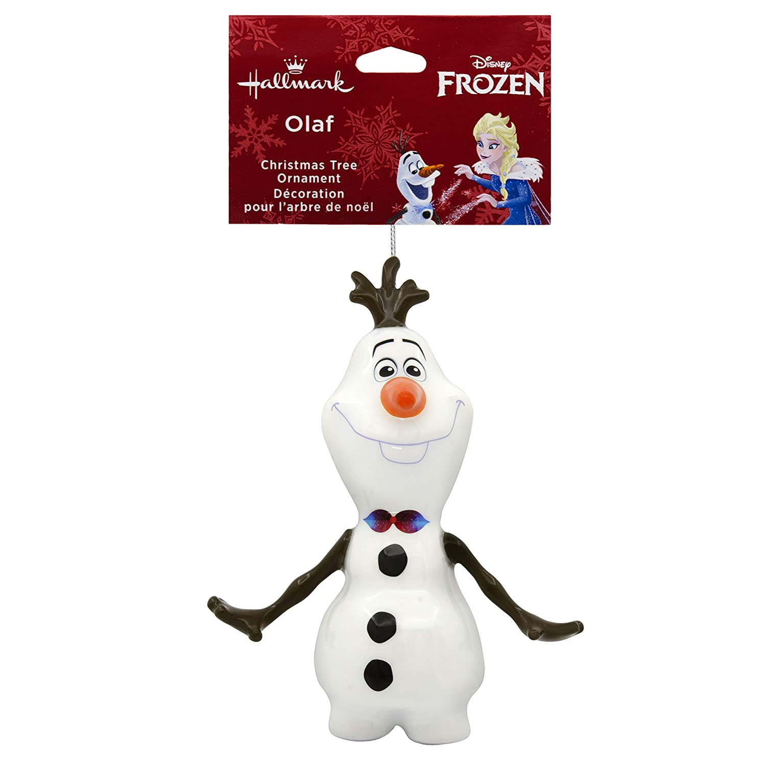 Amazon.com: Hallmark Christmas Ornament Disney Frozen Adventure Olaf ...