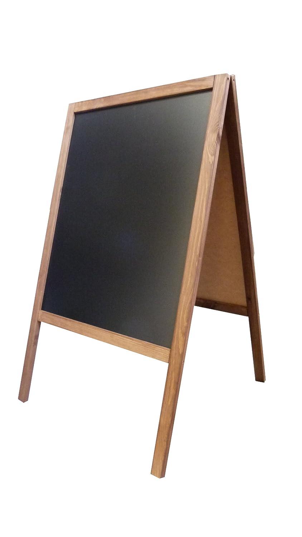 Pizarra de Pie de Madera 100 x 60cm Nueva Envío en 24 Horas en Reino Unido