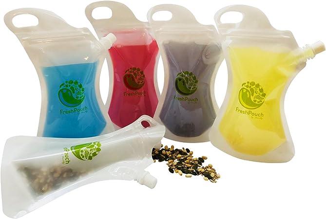 Amazon.com: Reutilizable bolsa de alimentos y bebida ...
