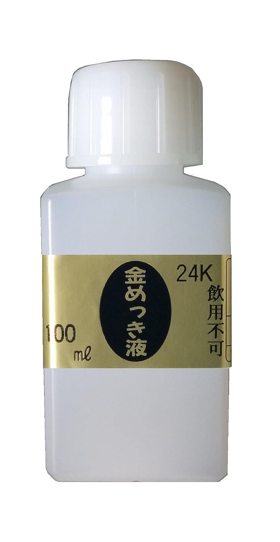 マルイ鍍金工業 めっき工房用24Kめっき液(標準液:フラッシュ) 100ml MS-63   B01G1JE9T6