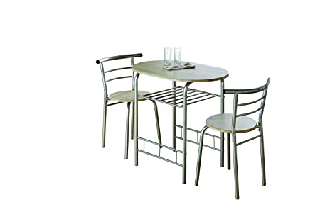 modern dining room table 110 x 70 x 76cm and chairs 38 x 40 x