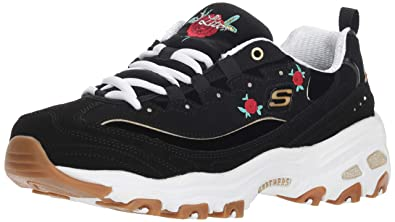 7d6e64fa5d57 Skechers Women s D Lites-Rose Blooms Sneaker