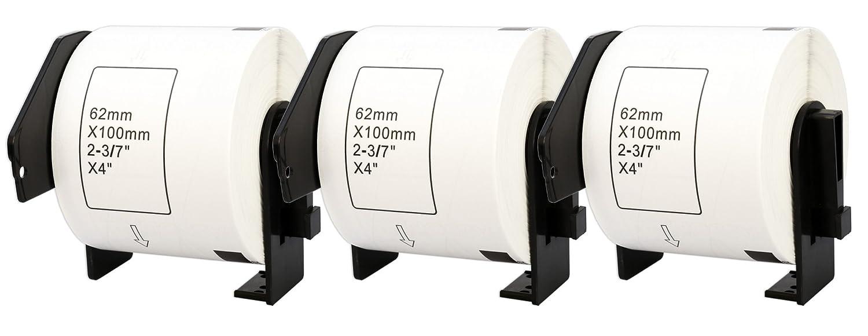 10x DK-11201 29 x 90 mm Adressetiketten (400 Stück Rolle) kompatibel für Brother P-Touch QL-1050 QL-1060N QL-1110NWB QL-1100 QL-500 QL-500BW QL-570 QL-580 QL-700 QL-710W QL-800 QL-810W QL-820NWB B074RSRM3T   Mama kaufte ein bequemes, Baby ist gl