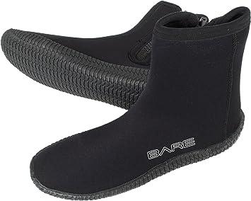 Bare 5mm Soft Sole Zipper Dive Boots