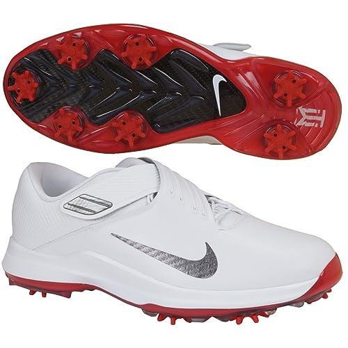 best website 8af07 2525e Nike Tiger Woods '17 - Zapatillas de Golf para Hombre, White/Metallic Dark