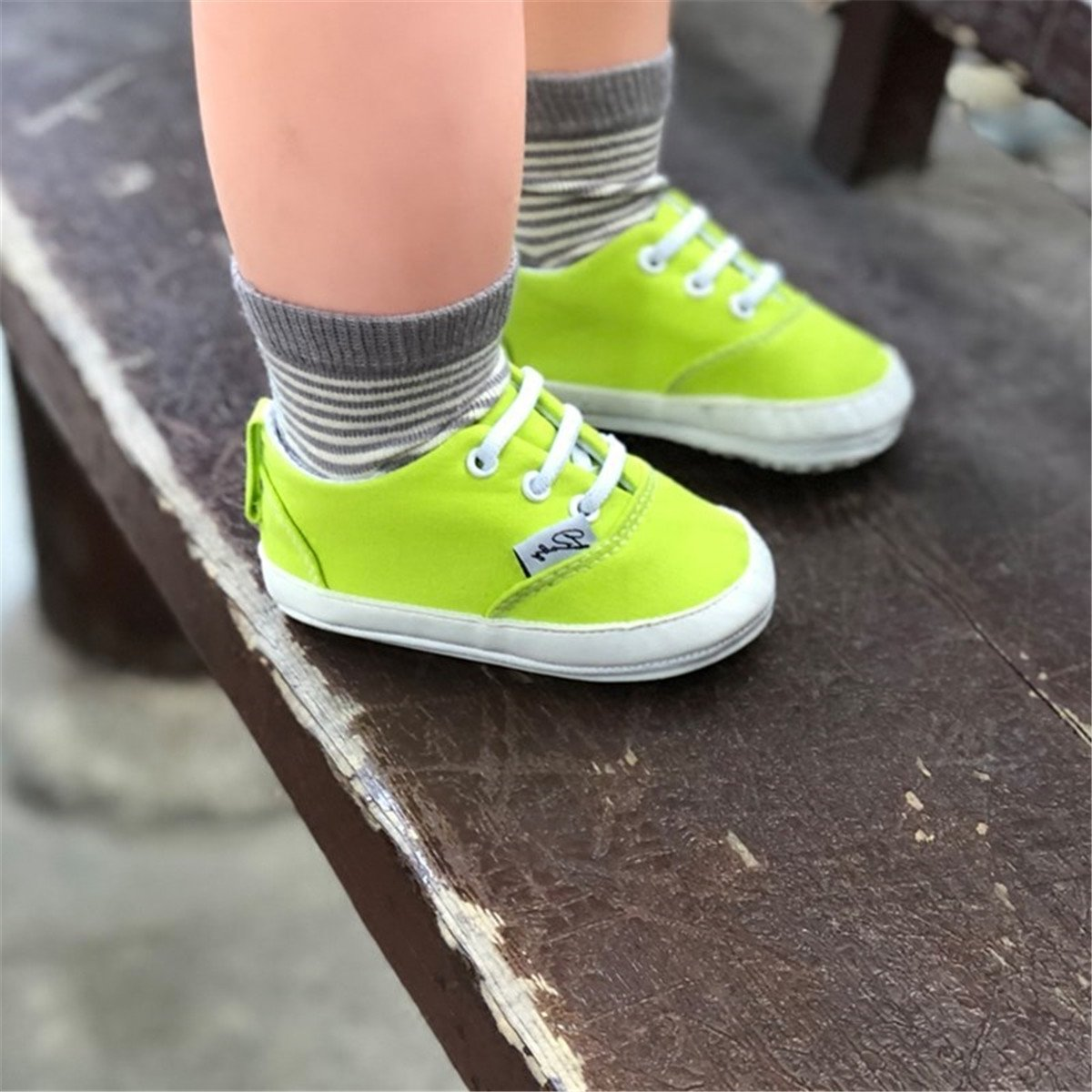 41a744f7c859ca BENHERO Baby Boys Girls Canvas Toddler Sneaker Anti-slip First Walkers  Candy Shoes 0-24 Months ...