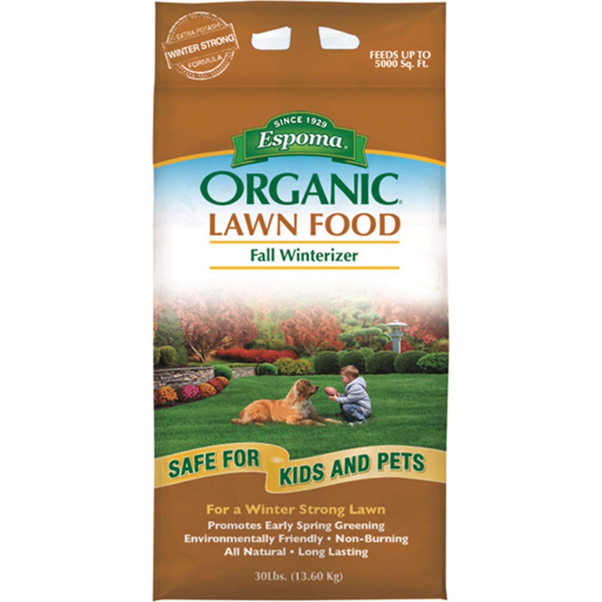 Espoma EOFW30 Organic Fall Fertilizer, 30-Pound by Espoma