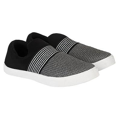 115499b81b8 WORLD WEAR FOOTWEAR Men Black-760 Loafers   Moccasins  Amazon.in  Shoes    Handbags