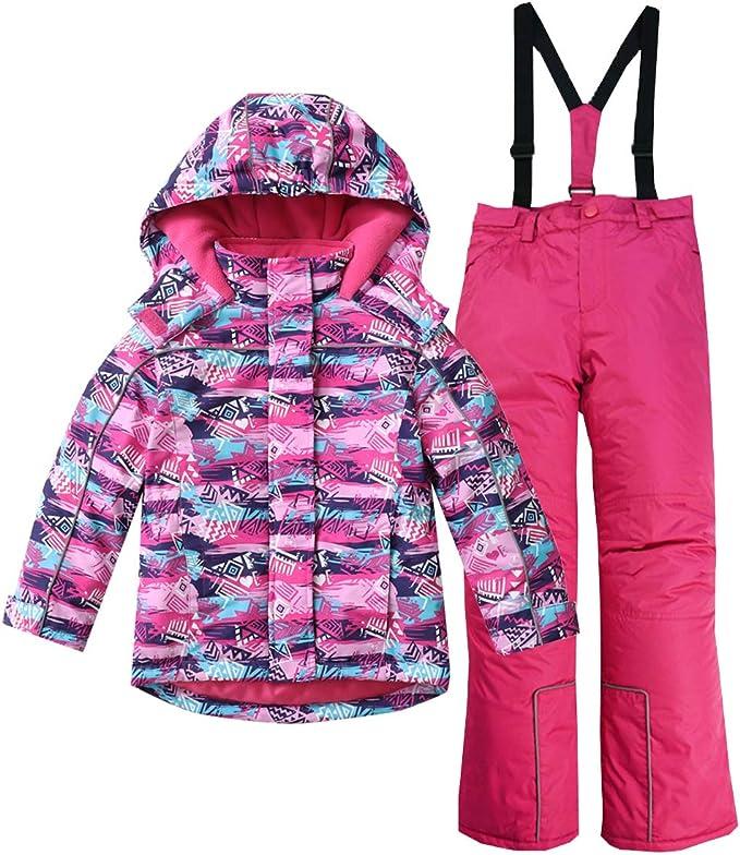 Moomins Girls snowsuit ski suit Kid winter jacket coat trousers pants waterproof