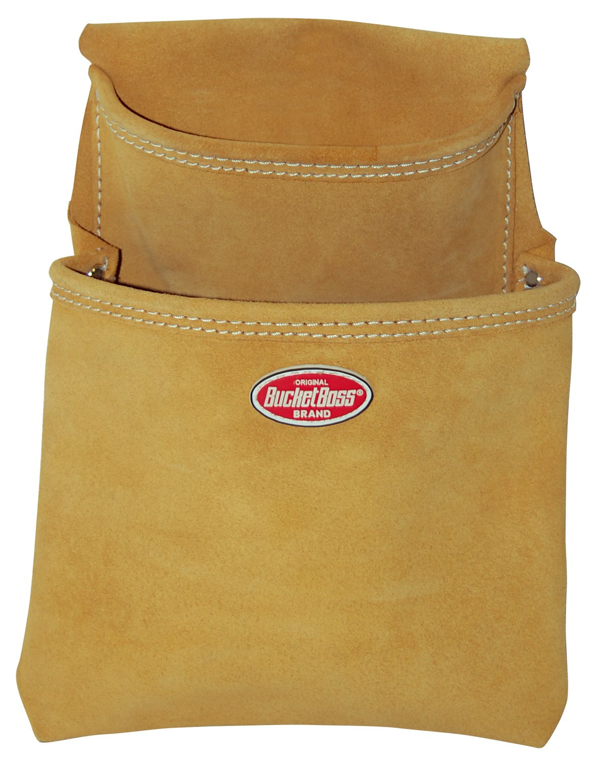 Bucket Boss 54483SP Suede Leather 2-Pocket Dry Wall Bag