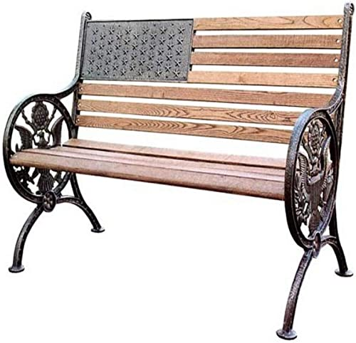 Oakland Living 6011AB Proud American Bench