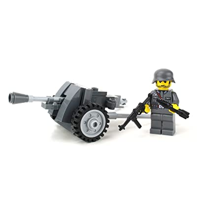 Battle Brick PAK38 World War 2 German Artillery Custom Set: Toys & Games [5Bkhe1104983]