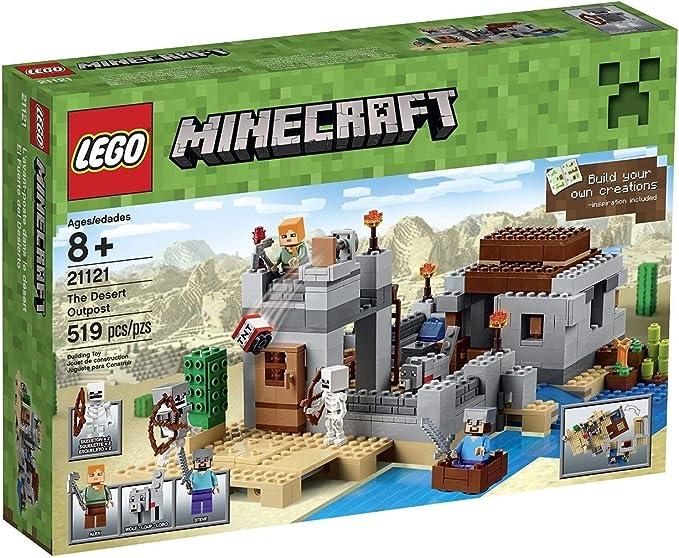 The Desert Outpost LEGO Minecraft 21121
