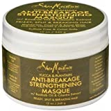 SheaMoisture 764302210184 - hair masks (Unisex, Water, Cetyl Alcohol, Cocos Nucifera (Coconut) Oil, Behentrimonium Methosulfate, Glycerin (Vegetable, Section clean, wet hair. Apply generously. Use a wide tooth comb to distribute evenly from root to e)