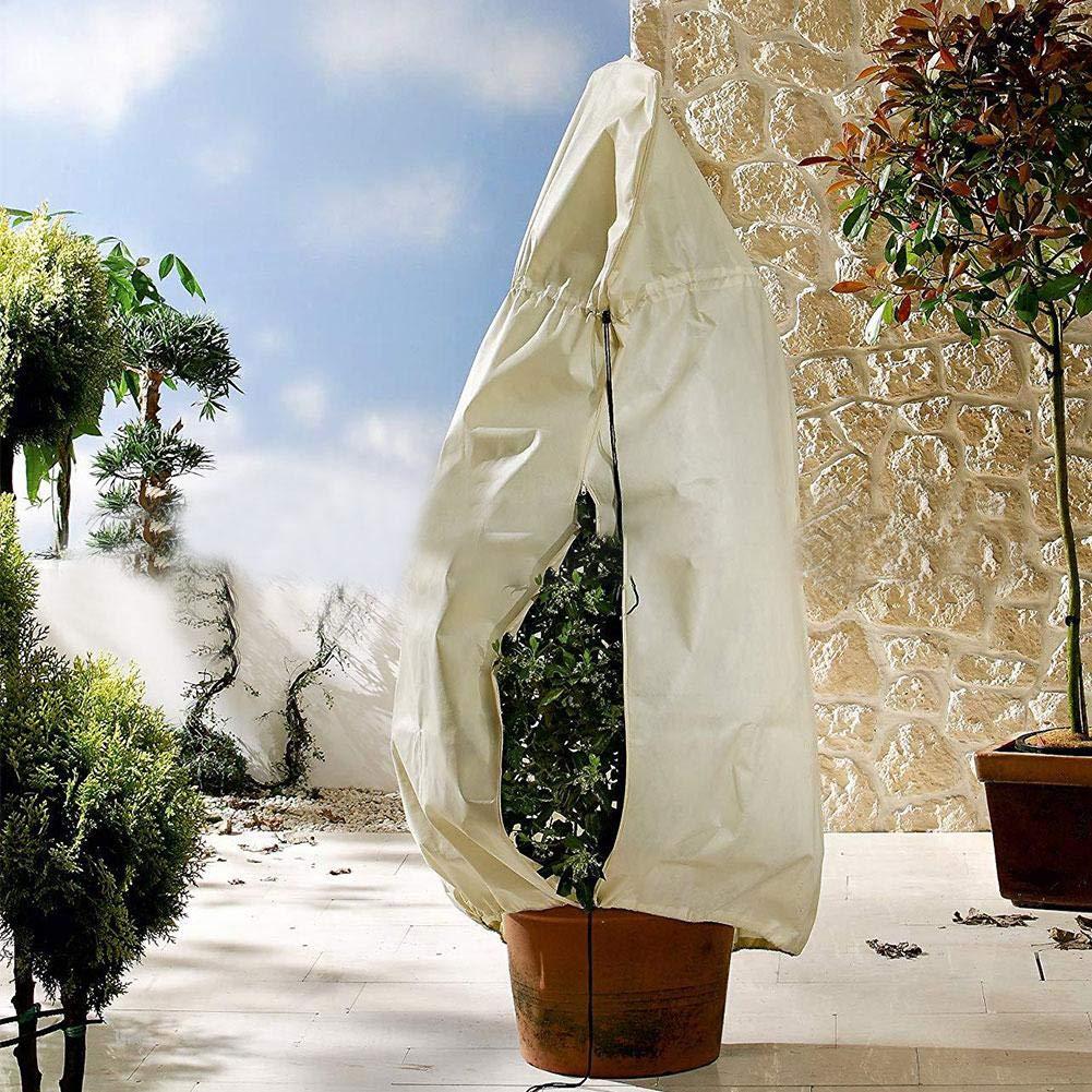 ParZ Plant Cover Frost Protection Bag con Gli arbusti Zipper e Gli Alberi da nocivi parassiti Bad Weather