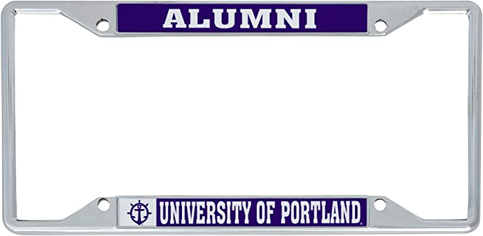 Alumni Desert Cactus Bryant University Bulldogs NCAA Metal License Plate Frame for Front or Back of Car Officially Licensed