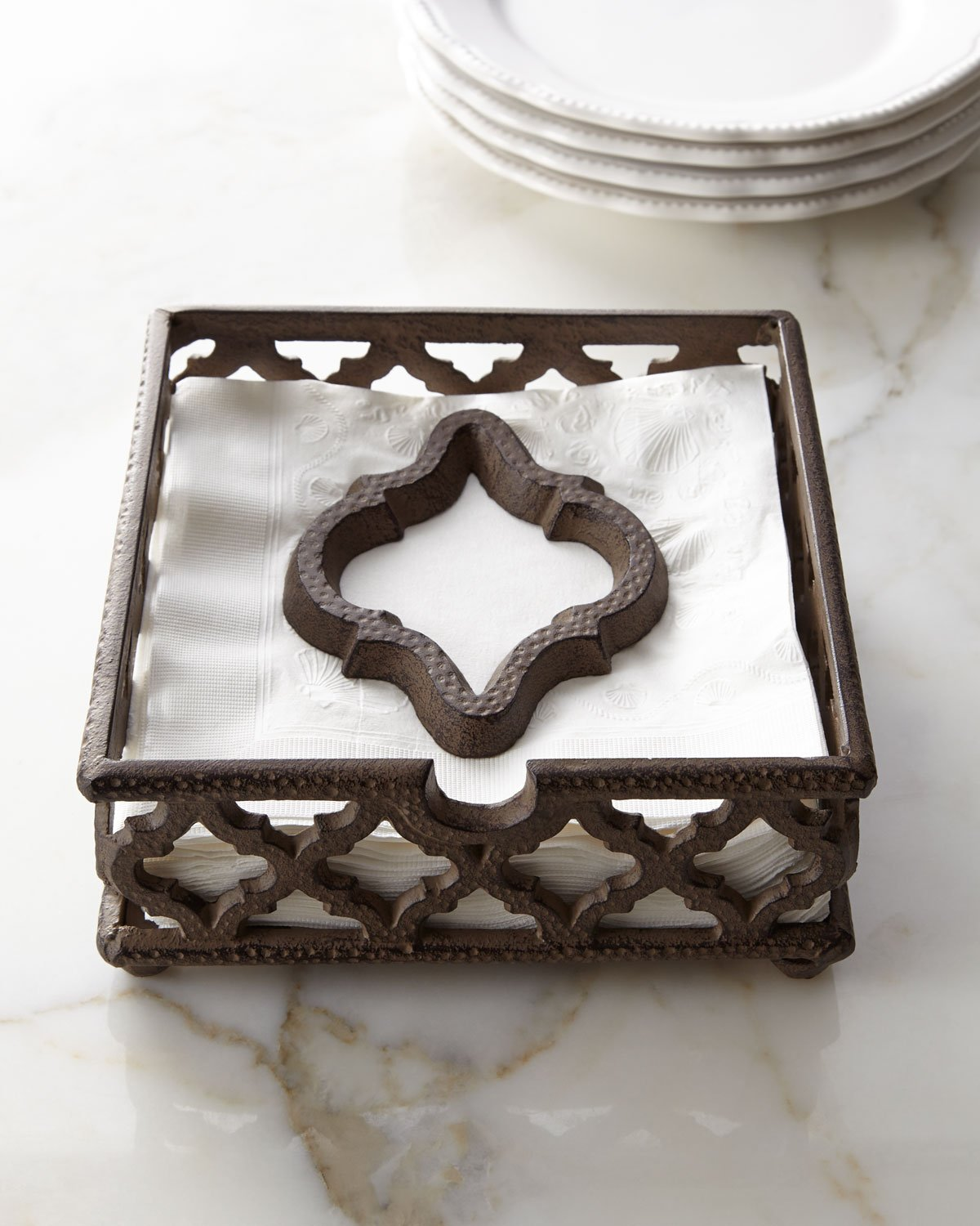 Ogee-G Napkin Holder by Gracious Goods