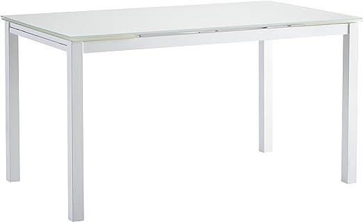 Abitti Mesa Extensible Cristal Templado y Estructura metálica para ...