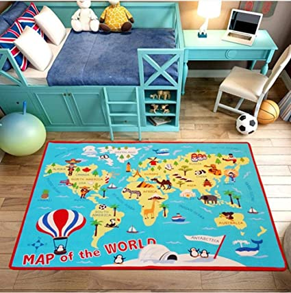 fancytan grand tapis educatif pour