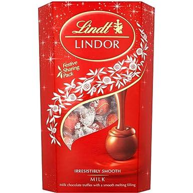 Lindt Lindor Leche Chocolate Trufas 600g