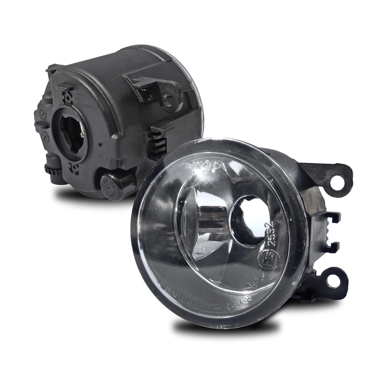 Amazon.com: JOM 82872 Fog Lights Opel G OPC2, Astra H Gtc Corsa D Tigra Twintop, Vectra C Zafira B Opc, Clearglas, Also Suitable for Bumper.
