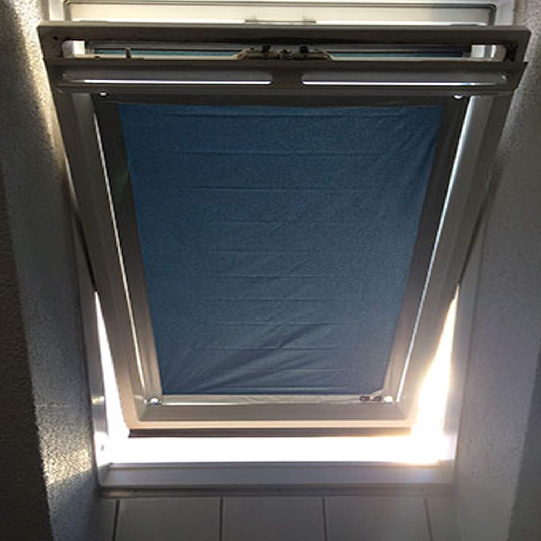 Store pour Fen/être de Toit Johgee Store Velux GGL Y85 et 085-96 x 100 cm Gris Protection Solaire Store Occultant sans Per/çage Rideaux Ventouse