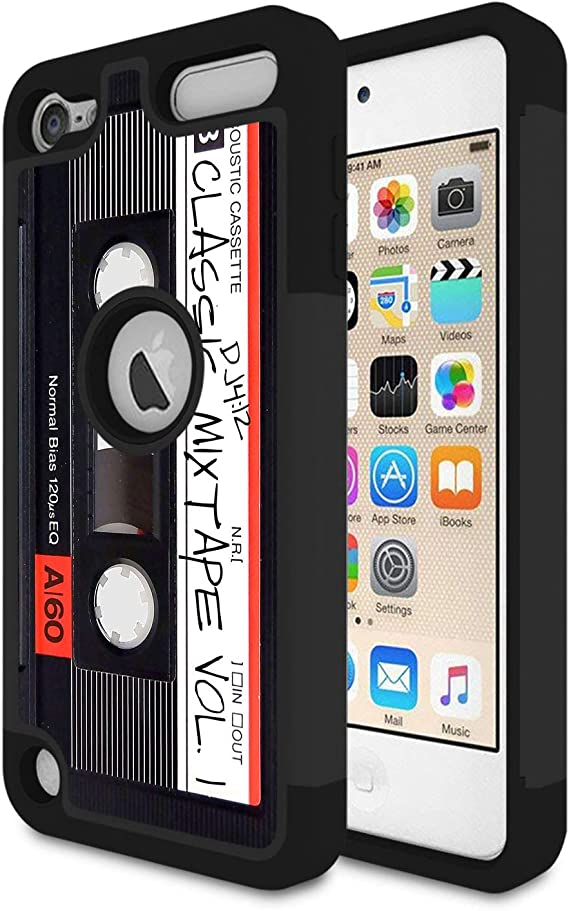 Apple iPod Touch 5th 6th Gen Heavy Duty Shockproof Protective Silicone TPU Case