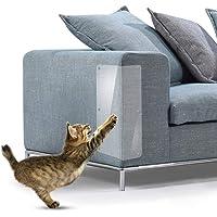 leegoal Pet Scratch Protector Gegen Scratch mit Selbstklebend Vermeiden Sie Pet Krallen Kratzschutz Katze Couch 6pcs 23 * 46CM