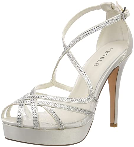 Menbur Wedding Women s Olinta Wedding Shoes  Amazon.co.uk  Shoes   Bags babcbf548fef