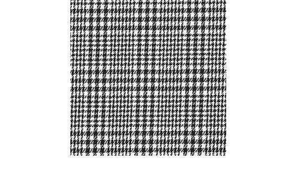 Fabulous Fabrics Tela para Trajes Stretch Toffee – Negro/Blanco ...