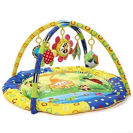 Zicac Gimnasio para Bebes, Multifuncional Manta de Juego Bebé Dinámica para Bebé, Activités Bébés