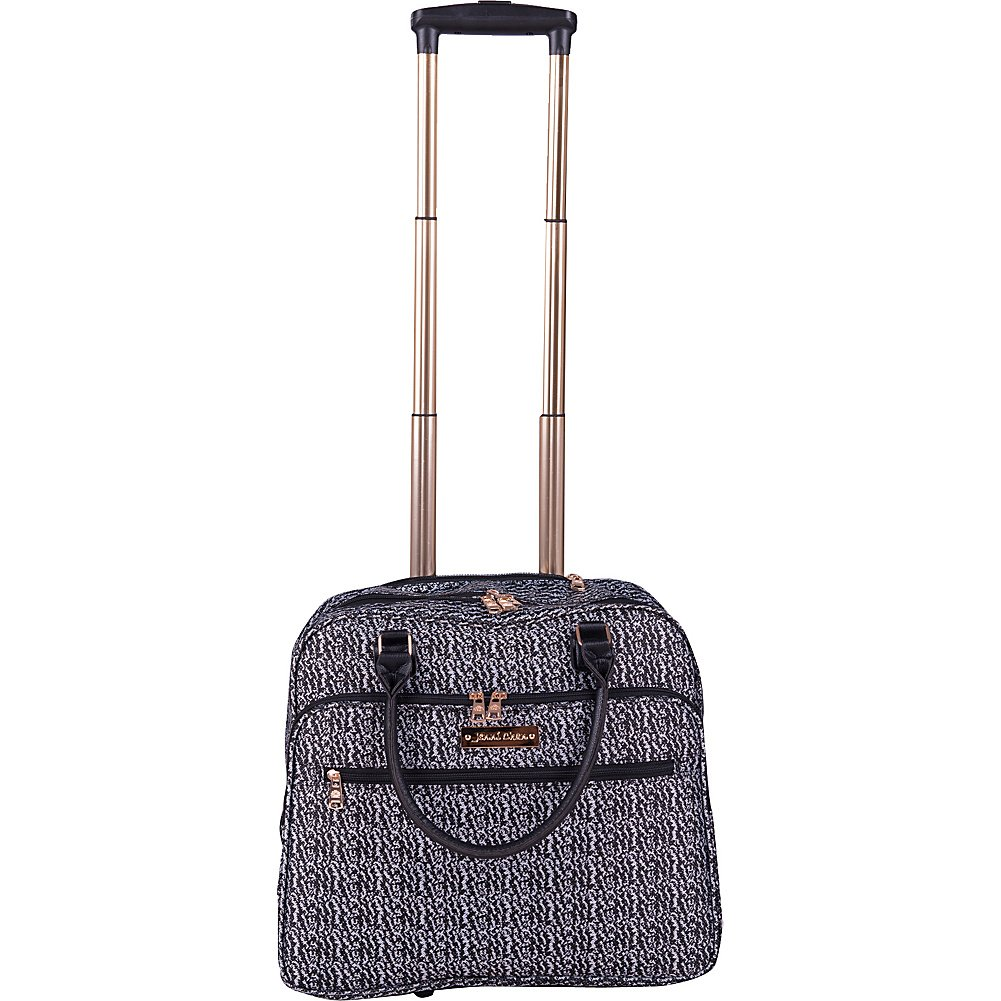 Jenni Chan Bryant 18'' Wheeled Carry-On Business Tote (Black)
