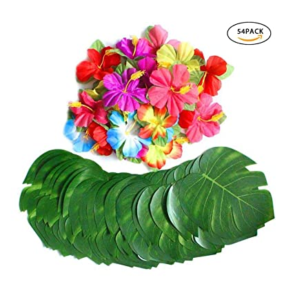 Amazoncom Elibone 8 Tropical Palm Turtle Shell Leaves Lifelike