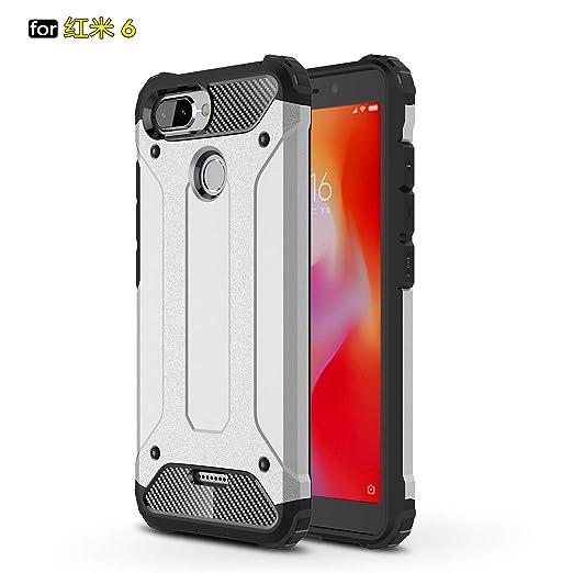 xinyunew Xiaomi Redmi 6 Funda, 360 Grados Protección +Vidrio ...