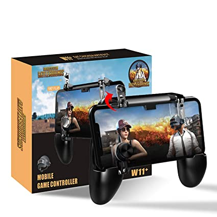 Newseego Mobile Game Controllers, iOS & Android Controller, Aim Trigger  Fire Buttons L1R1 Shooter Sensitive Joystick, Portable Controller Gamepad  with