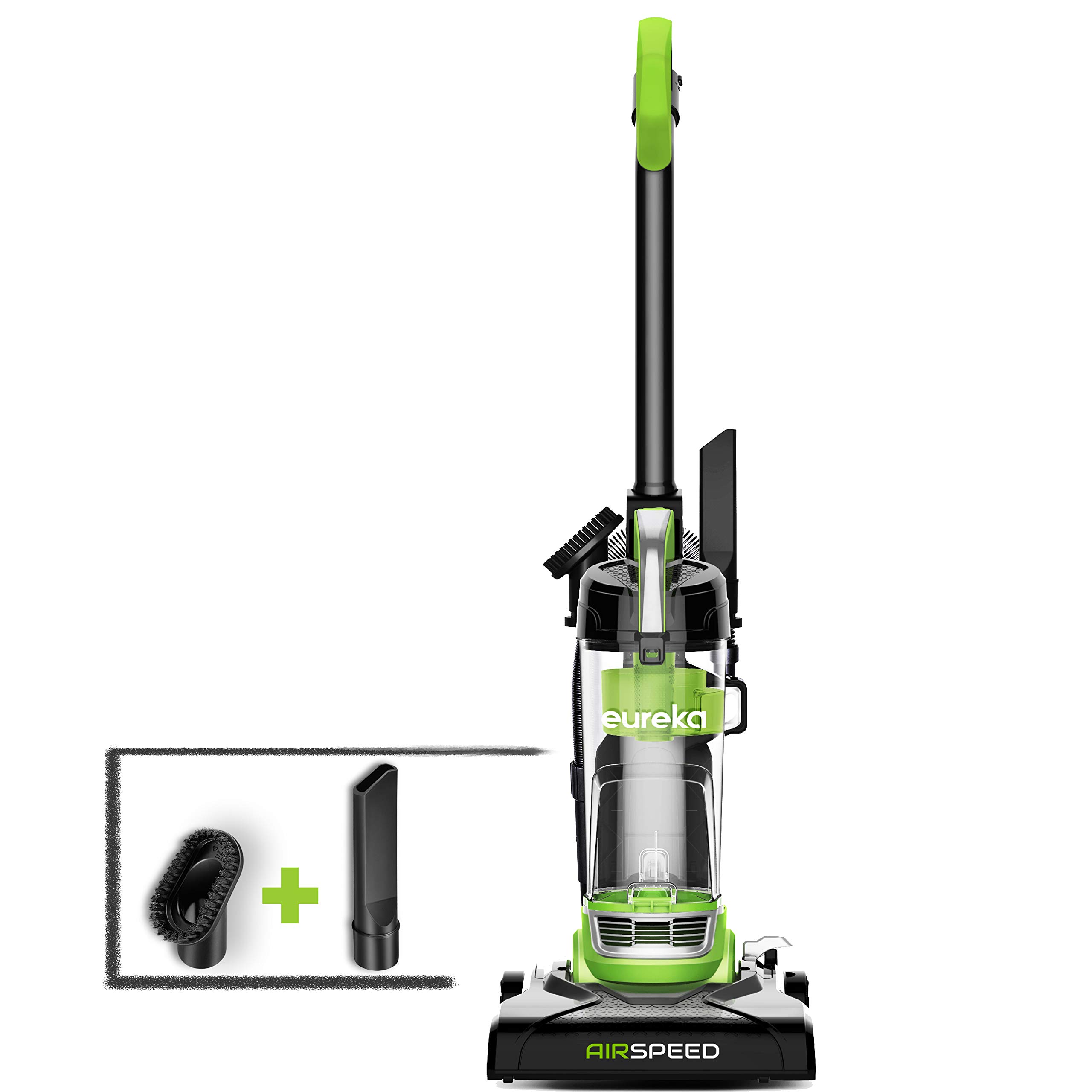 Eureka NEU100 Airspeed Ultra-Lightweight Compact Bagless Upright Vacuum Cleaner, Lime Green by EUREKA