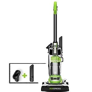 Eureka NEU100 Airspeed Ultra-Lightweight Compact Bagless Upright Vacuum Cleaner, Lime Green
