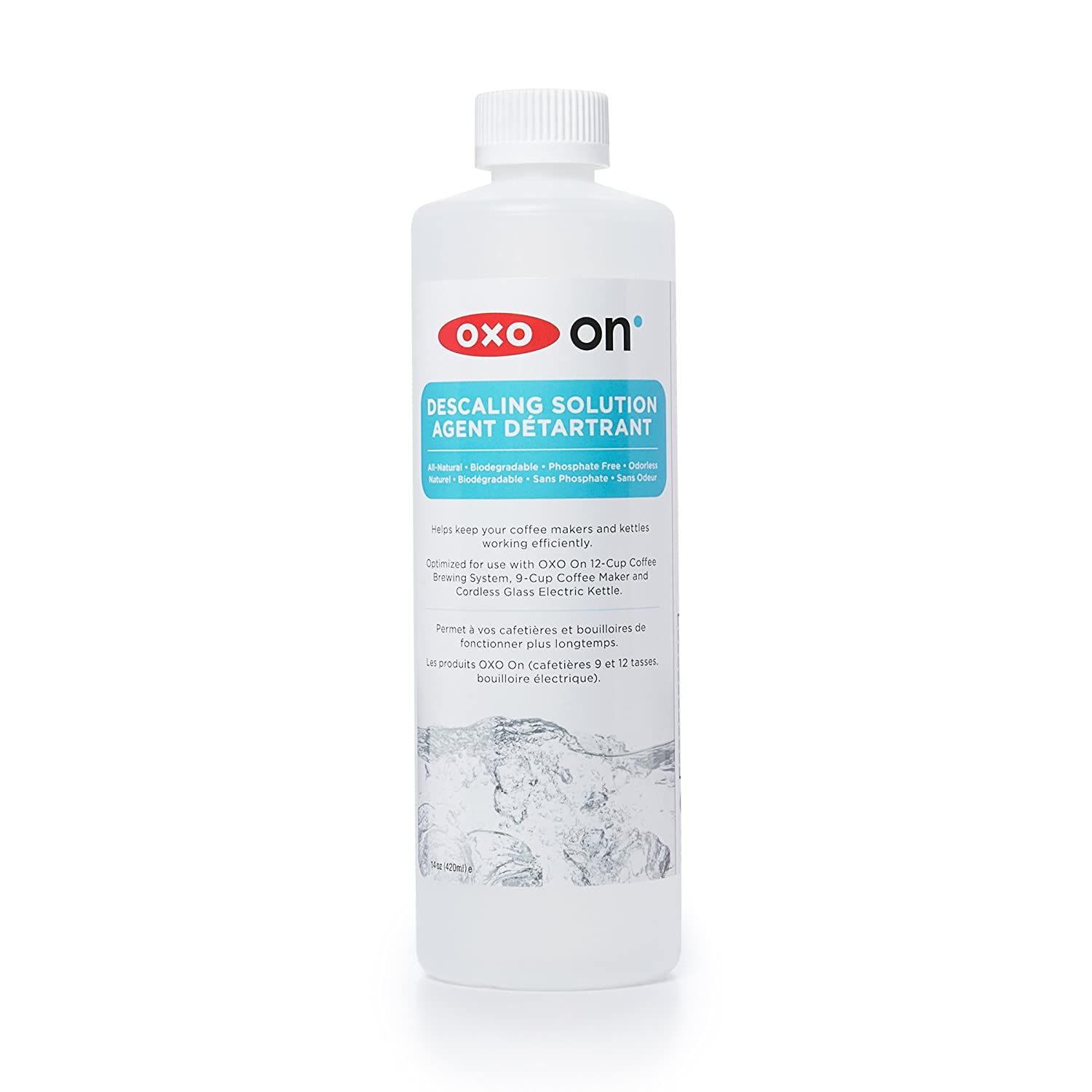 OXO All-Natural Phosphate-Free Descaling Solution