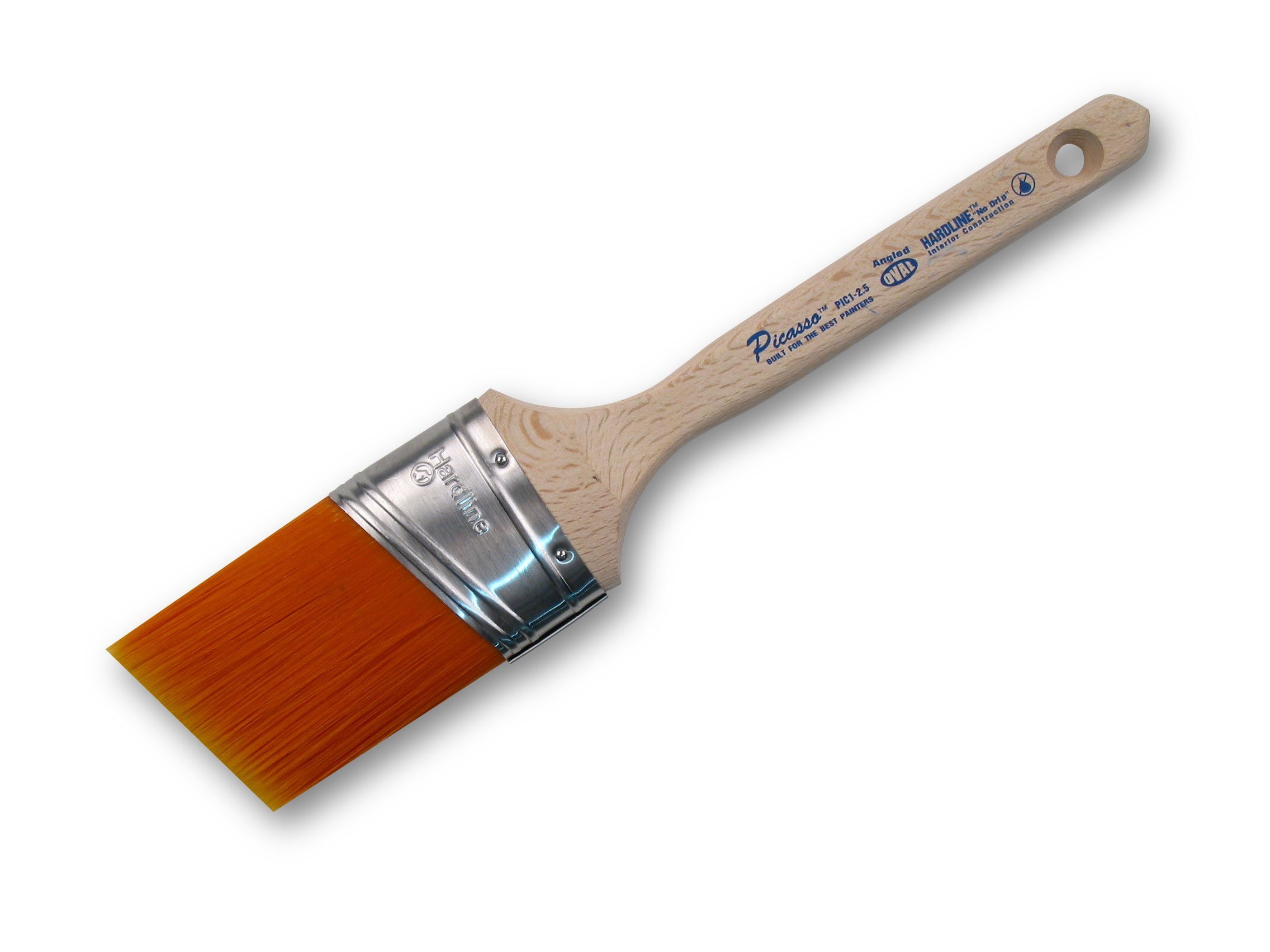 Proform Technologies PIC11-2.5 2-1/2-Inch Chisel Picasso Oval Angled Cut Paint Brush