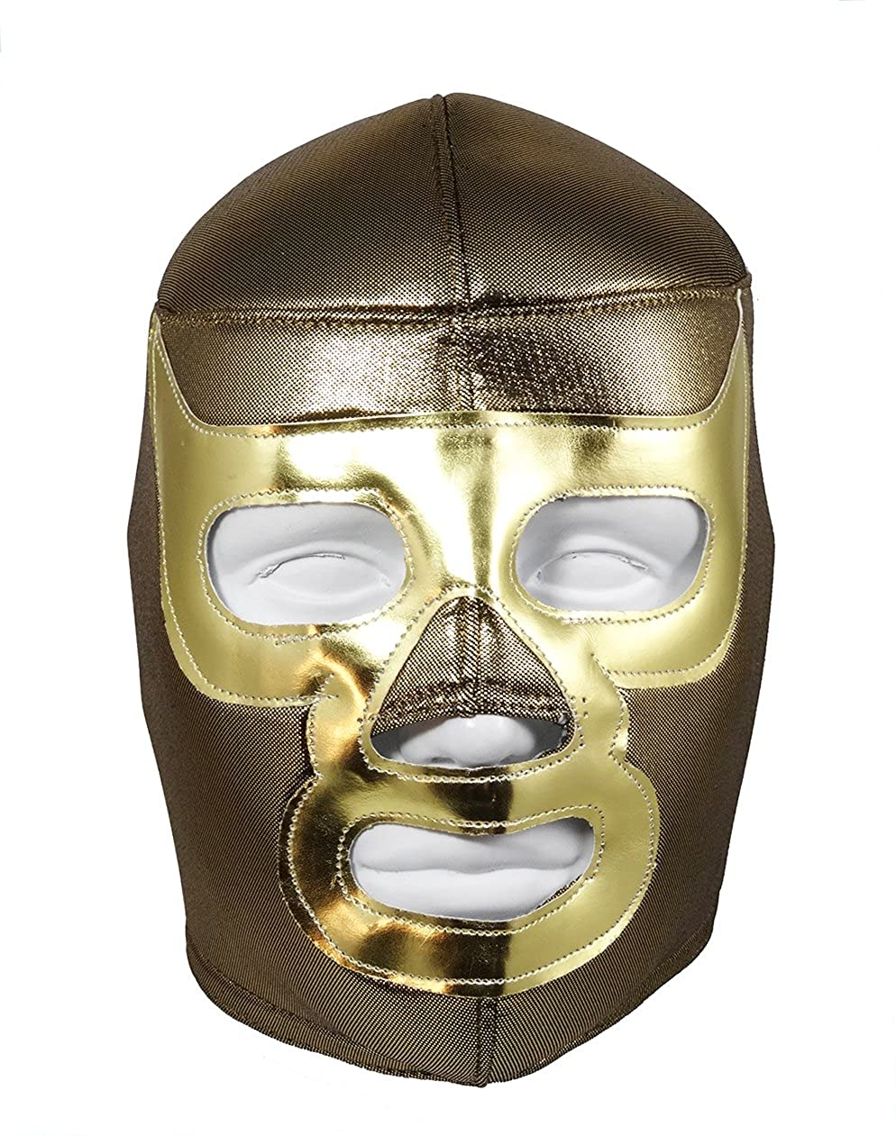 Amazon.com: RAMSES Adult Lucha Libre Wrestling Mask (pro-fit) Costume Wear - Gold: Clothing