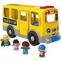 Little People GLT75 Fisher-Price Big Yellow School Bus, Multicolor