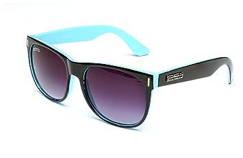 Catania Occhiali Sonnenbrille - Wayfarer Stil Retro Vintage Unisex Brille - Limited Edition (Schwarz Weiß) Uk459zguG3