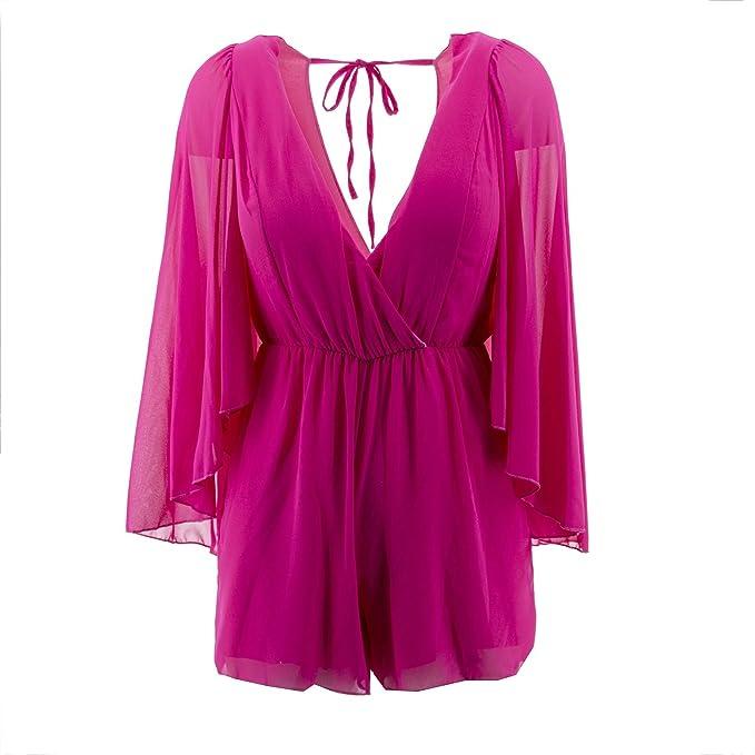 rivenditore di vendita 2f6ee 9dd49 Netgozio - Vestito Donna Miniabito Overall Short ...