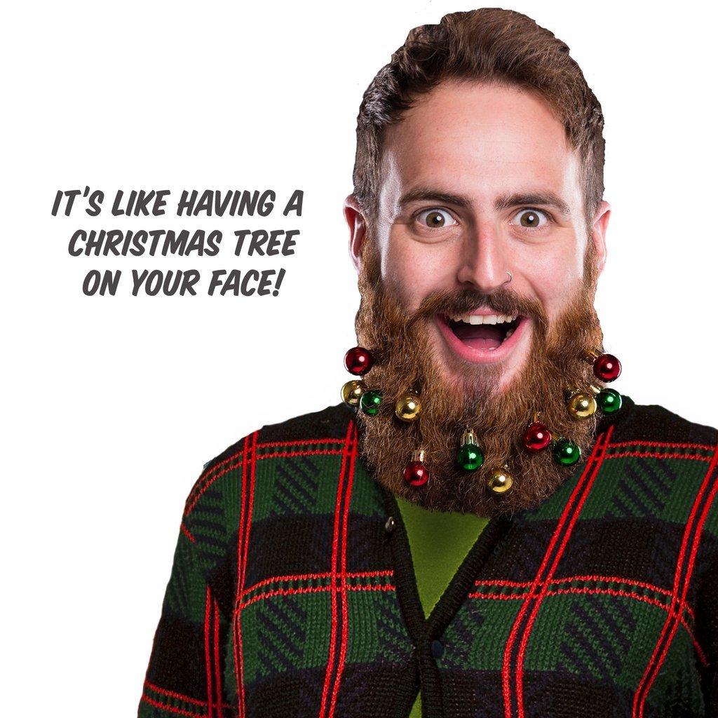 Amazon.com : Beardo Beard Ornaments, Colors, 10 Pack : Everything Else