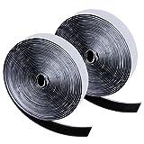 Zacro 6m Klettband selbstklebend Flausch und Haken 20mm breit für alle Arten von Grafikrahmen Installation