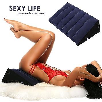 Amazon.com: enlove posicionamiento sexual almohada, punto g ...