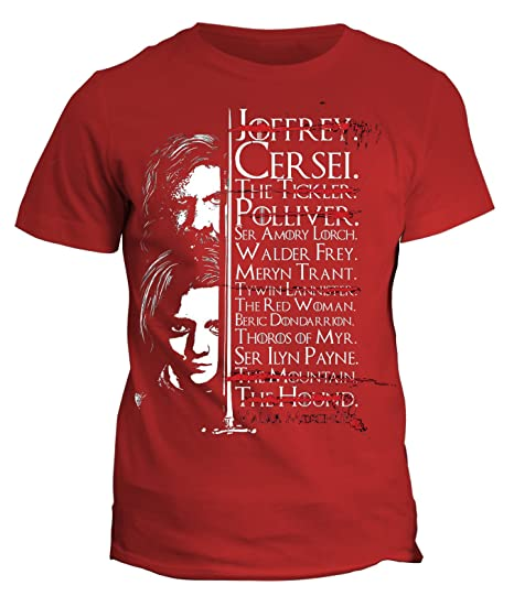 fashwork Camiseta Lista Arya Stark - The Games of Thrones - Juego ...